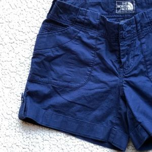 The North Face Navy Blue Shorts